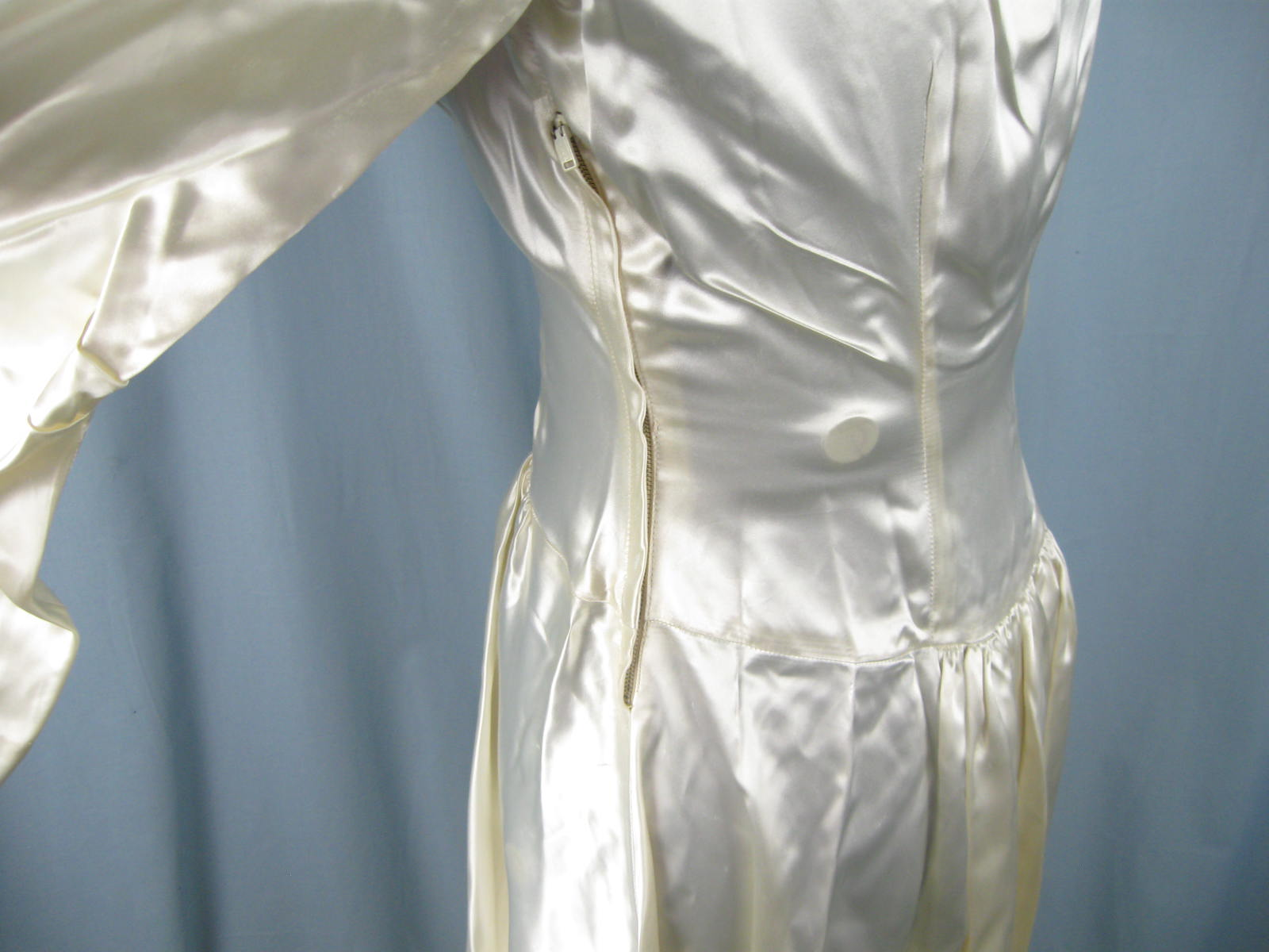 vintage 1930s 1940s satin wedding dress gown ebay