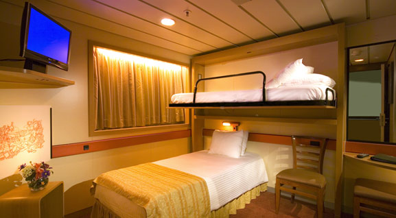 Cruise Lines Secret Cabins Carnival Line