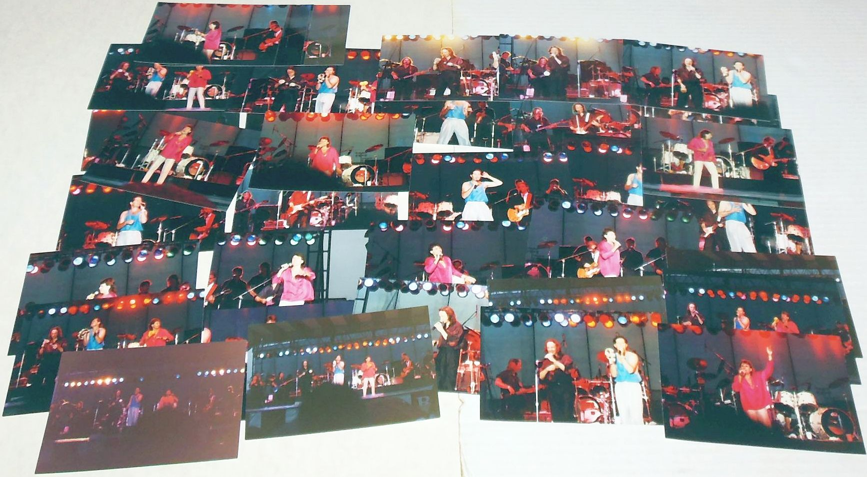 Monkees Item Original Real Photo Lot 1989 Tour July 31