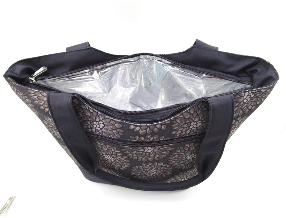 Rachael Ray Lunch Tote Mum S Charcoal Insulated Lunch