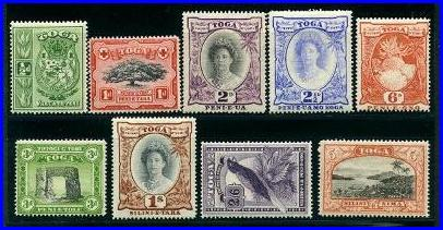 Philatelic Stamps Of Tonga Stamps Page 3