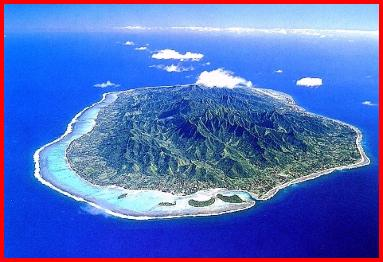 Arial View of Cook Island