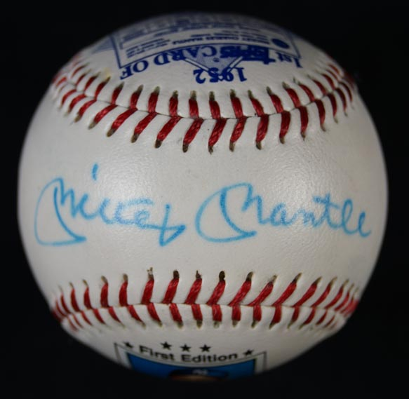 Mickey Mantle Signed 1952 Topps Rookie Card Baseball RC Auto JSA LOA (PWCC) - Image 1