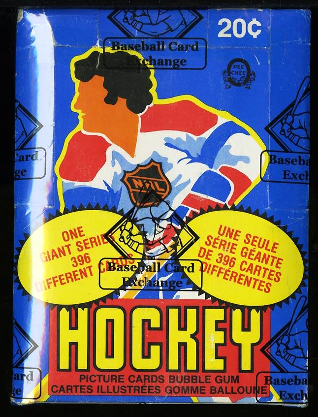 Image of: 1980 O-Pee-Chee Hockey Wax Box, 48ct Packs, Mark Messier RC, BBCE AUTH (PWCC)