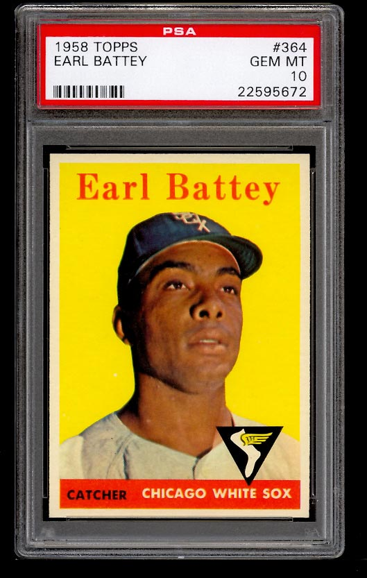 Image of: 1958 Topps Earl Battey #364 PSA 10 GEM MINT (PWCC)