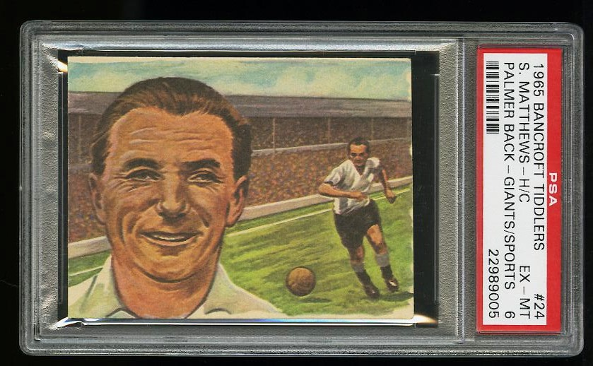 Image of: 1965 Bancroft Tiddlers Giants of Sport Arnold Palmer ROOKIE RC PSA 6 EXMT (PWCC)