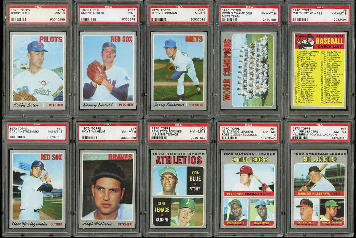 Image of: 1970 Topps Ultra Hi-Grade COMPLETE SET Roberto Clemente Thurman Munson RC (PWCC)