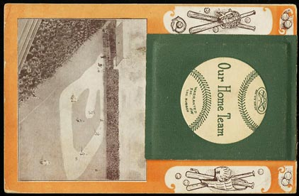 Image of: 1908 Art Postcard Our Home Team Chicago White Sox w/ Dougherty Atz, RARE (PWCC)