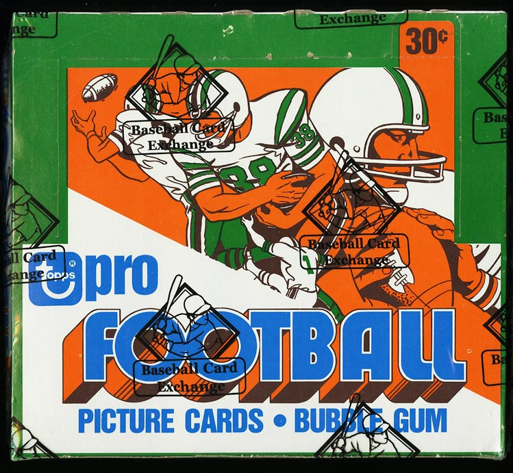 Image of: 1978 Topps Football Cello Box, Walter Payton Tony Dorsett RC?, BBCE AUTH (PWCC)