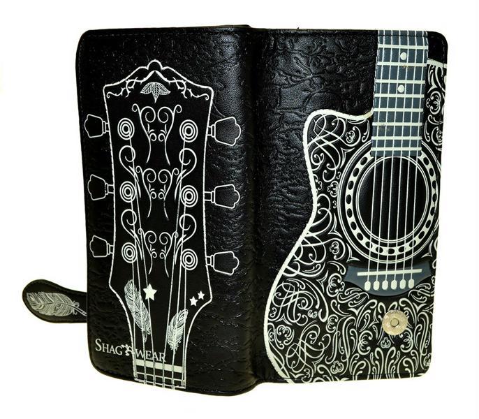 Guitar Head design Shagwear Mens Wallet
